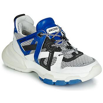 Topánky Ženy Nízke tenisky Bronx SEVENTY STREET Biela / Čierna / Modrá
