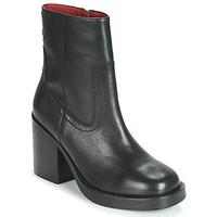 Topánky Ženy Čižmičky Bronx BULA VARD Čierna