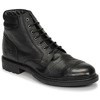 Topánky Muži Polokozačky Base London REPTON Čierna