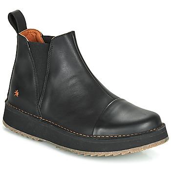 Topánky Ženy Polokozačky Art ORLY Čierna