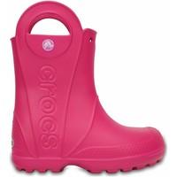 Topánky Deti Gumaky Crocs Crocs™ Kids' Handle It Rain Boot Ružová
