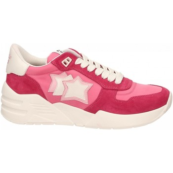 Topánky Ženy Nízke tenisky Atlantic Stars VENUS rosso-rosa