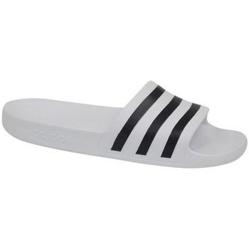 Topánky Muži športové šľapky adidas Originals Adilette Aqua Biela