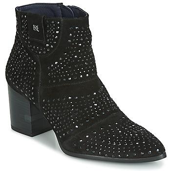 Topánky Ženy Čižmičky Dorking LESLY Čierna