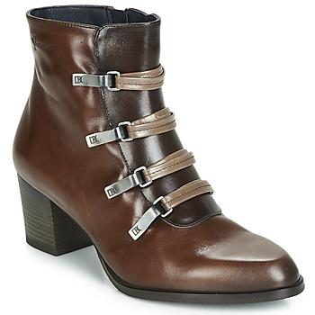 Topánky Ženy Čižmičky Dorking ZUMA Ťavia hnedá