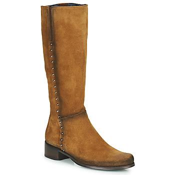 Topánky Ženy Čižmy do mesta Dorking CRUSCA Hnedá