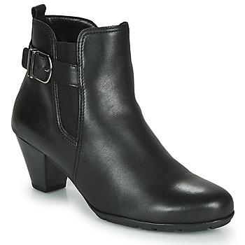 Topánky Ženy Čižmičky Gabor 3564127 Čierna
