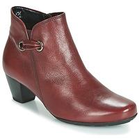 Topánky Ženy Čižmičky Gabor 3282758 Červená