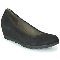 Topánky Ženy Balerínky a babies Gabor 532017 Čierna