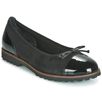 Topánky Ženy Balerínky a babies Gabor 3410037 Čierna