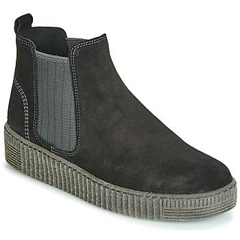 Topánky Ženy Polokozačky Gabor 3373117 Čierna