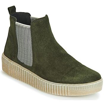Topánky Ženy Polokozačky Gabor 3373111 Zelená