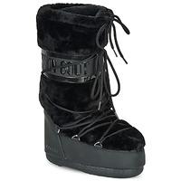 Topánky Ženy Obuv do snehu Moon Boot MOON BOOT CLASSIC FAUX FUR Čierna