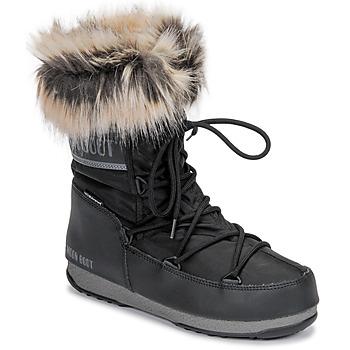 Topánky Ženy Snehule  Moon Boot MOON BOOT MONACO LOW WP 2 Čierna