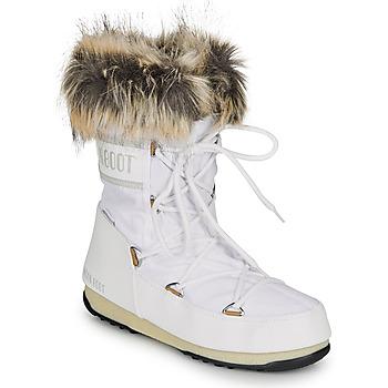 Topánky Ženy Snehule  Moon Boot MOON BOOT MONACO LOW WP 2 Biela