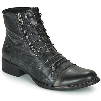 Topánky Muži Polokozačky Kdopa MANSHESTER Čierna
