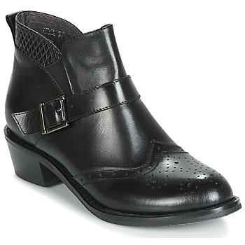 Topánky Ženy Polokozačky Kdopa INNA Čierna