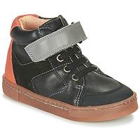 Topánky Chlapci Členkové tenisky Babybotte KEN Čierna / Oranžová