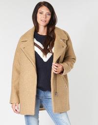 Oblečenie Ženy Kabáty Kaporal DALIA Béžová / Hnedá