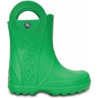 Topánky Deti Gumaky Crocs Crocs™ Kids' Handle It Rain Boot  zelená