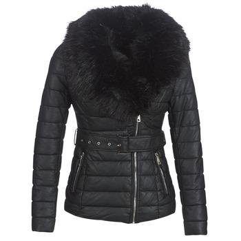 Oblečenie Ženy Vyteplené bundy Moony Mood LOUVE Čierna