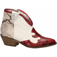 Topánky Ženy Čižmičky Le Pure  bianco-roccia-rosso