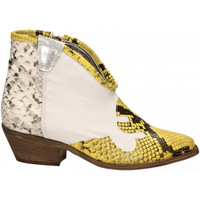 Topánky Ženy Čižmičky Le Pure  bianco-roccia-giallo