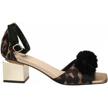 Topánky Ženy Sandále Jeannot SCARPE D platino---nero