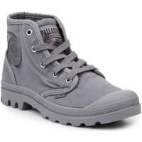 Topánky Muži Členkové tenisky Palladium Lifestyle shoes  US Pampa Hi Titanium 92352-011-M grey