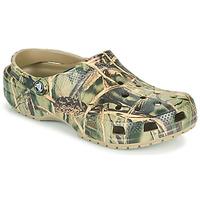 Topánky Muži Nazuvky Crocs CLASSIC REALTREE Kaki