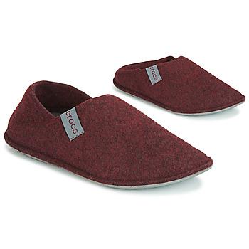 Topánky Papuče Crocs CLASSIC CONVERTIBLE SLIPPER Bordová / Šedá