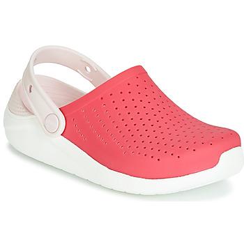 Topánky Dievčatá Nazuvky Crocs LITERIDE CLOG K Červená / Biela