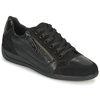 Topánky Ženy Nízke tenisky Geox D MYRIA A Čierna