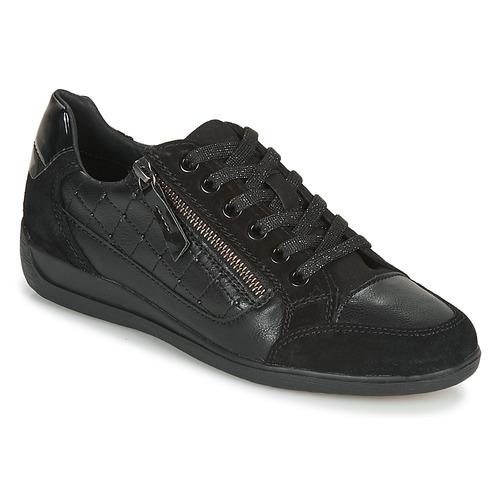 Topánky Ženy Nízke tenisky Geox D MYRIA Čierna