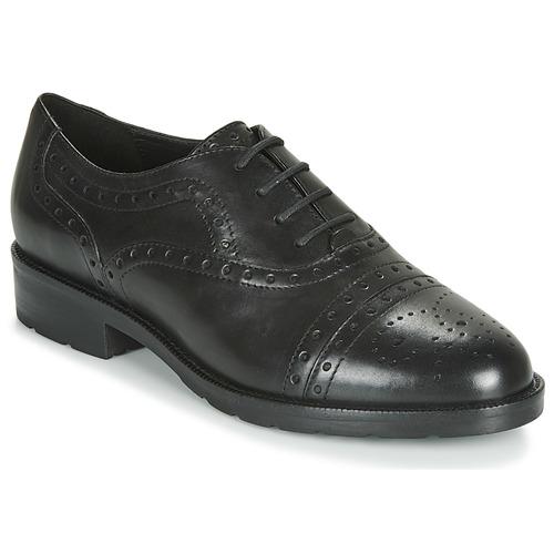 Topánky Ženy Derbie Geox D BETTANIE Čierna