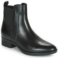Topánky Ženy Polokozačky Geox FELICITY Čierna
