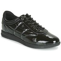 Topánky Ženy Nízke tenisky Geox D AVERY Čierna
