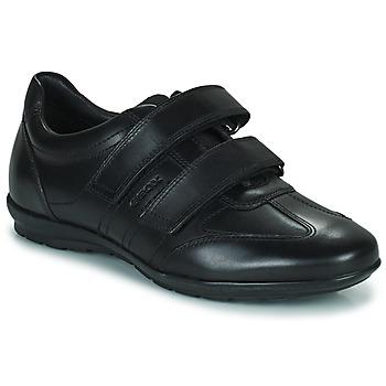 Topánky Muži Nízke tenisky Geox UOMO SYMBOL Čierna