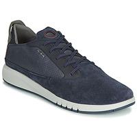 Topánky Muži Nízke tenisky Geox U AERANTIS Námornícka modrá