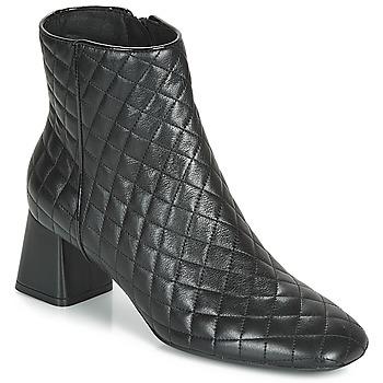Topánky Ženy Čižmičky Geox D SEYLA Čierna