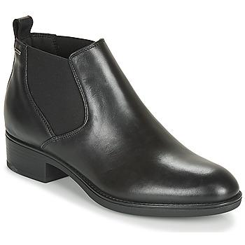 Topánky Ženy Polokozačky Geox D FELICITY NP ABX C Čierna