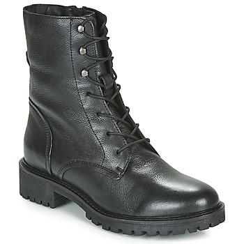 Topánky Ženy Čižmičky Geox D HOARA Čierna