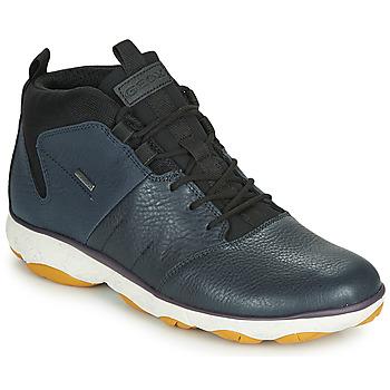 Topánky Muži Polokozačky Geox U NEBULA 4 X 4 B ABX Námornícka modrá