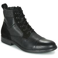 Topánky Muži Polokozačky Geox U JAYLON Čierna