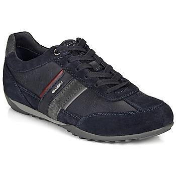 Topánky Muži Nízke tenisky Geox U WELLS Námornícka modrá