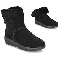 Topánky Ženy Polokozačky FitFlop MUKLUK SHORTY III Čierna