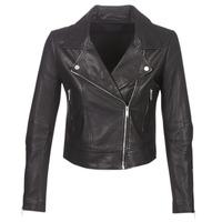 Oblečenie Ženy Kožené bundy a syntetické bundy Ikks BM48145-02 Čierna