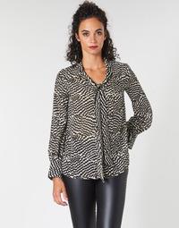 Oblečenie Ženy Blúzky Ikks BP13065-02 Béžová / Čierna
