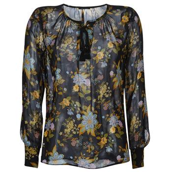 Oblečenie Ženy Blúzky Ikks BP13125-02 Čierna / Viacfarebná