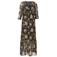 Oblečenie Ženy Dlhé šaty Ikks BP30195-02 Čierna / Viacfarebná